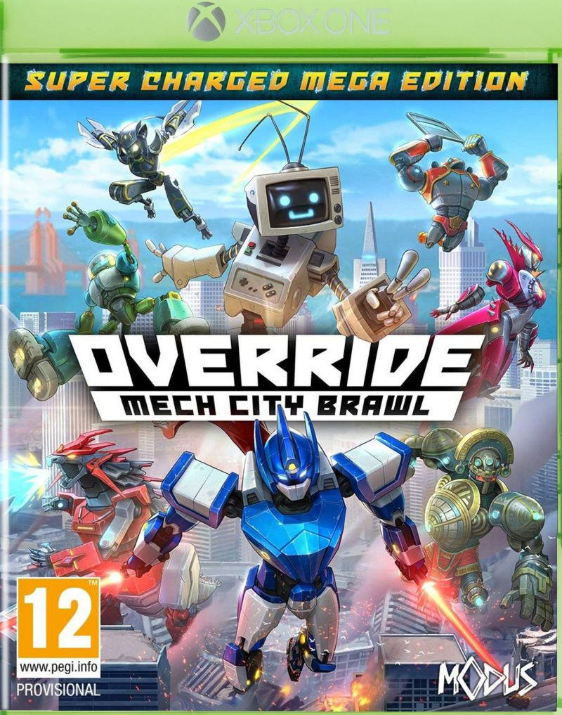 XBOX ONE Override - Mech City Brawl - Super Charged Mega Edition