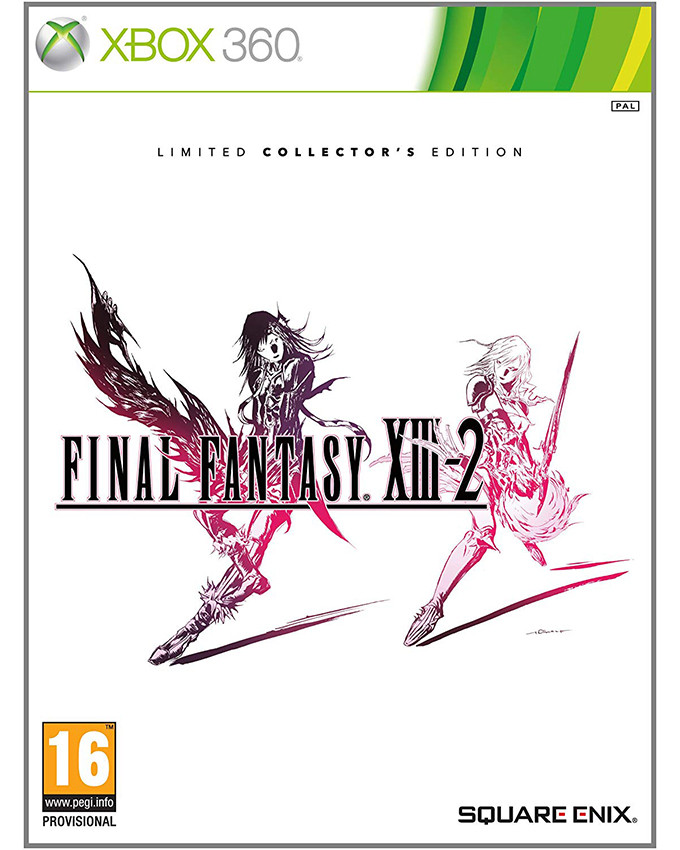 XBOX 360 Final Fantasy XIII-2 Limited Collectors Edition