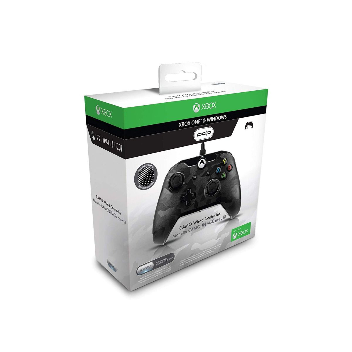 Gamepad PDP Wired Controller Black Camo XB1 / PC