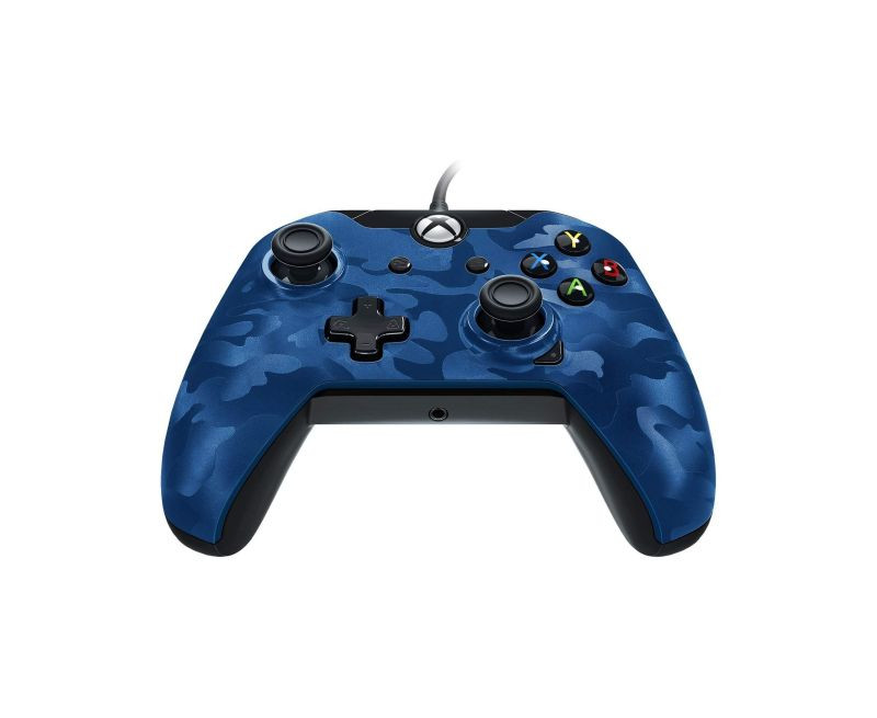 Gamepad PDP Wired Controller Blue Camo XB1 / PC