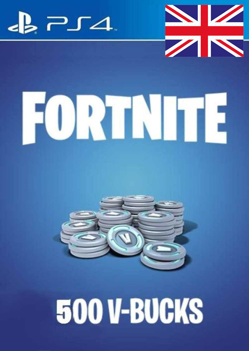 PS4 V-Bucks 500 za igru FORTNITE Prepaid Card UK nalog