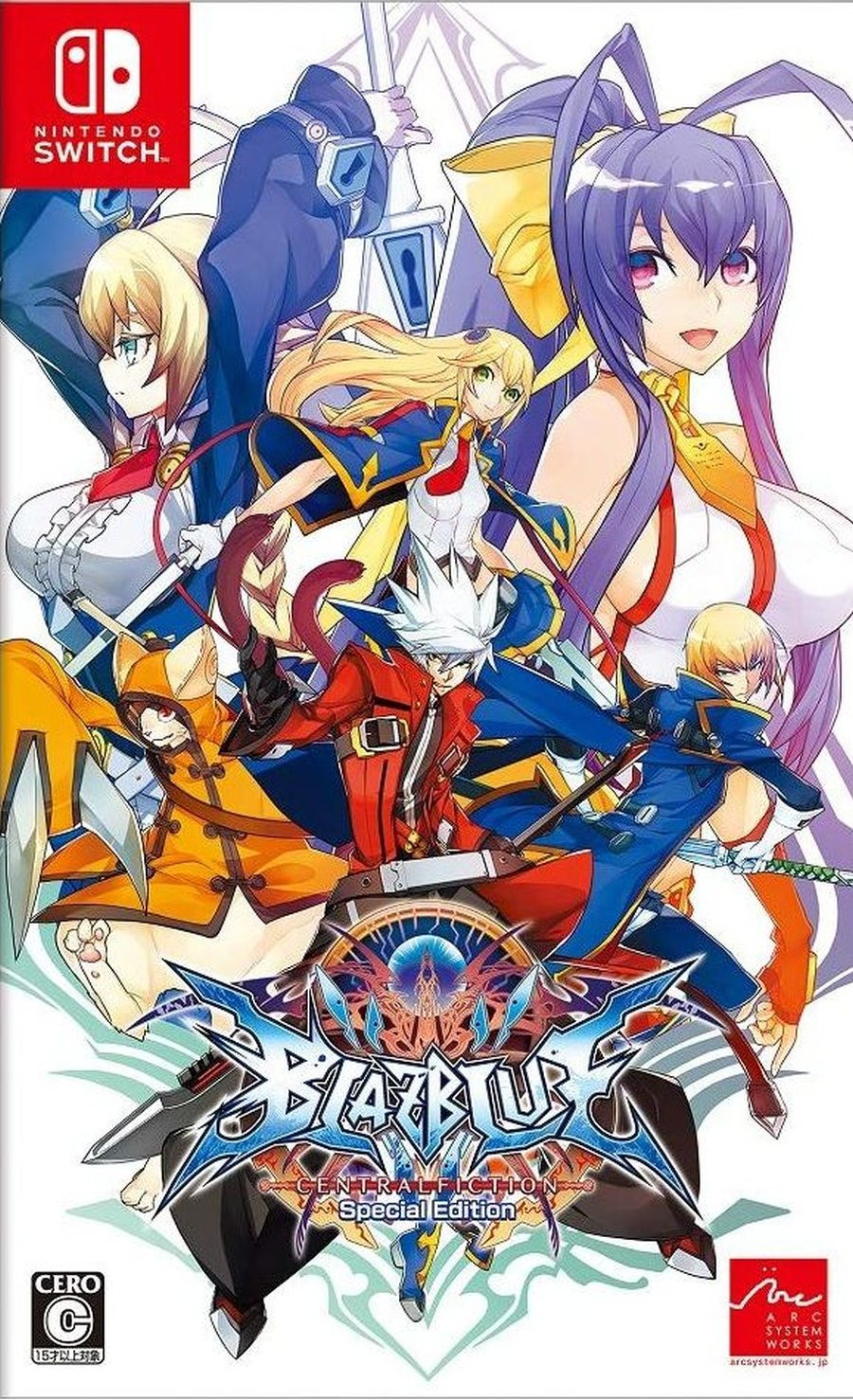 SWITCH BlazBlue Central Fiction