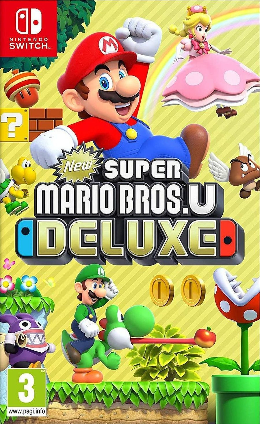 SWITCH New Super Mario Bros U Deluxe Edition - igrica za Nintendo Switch