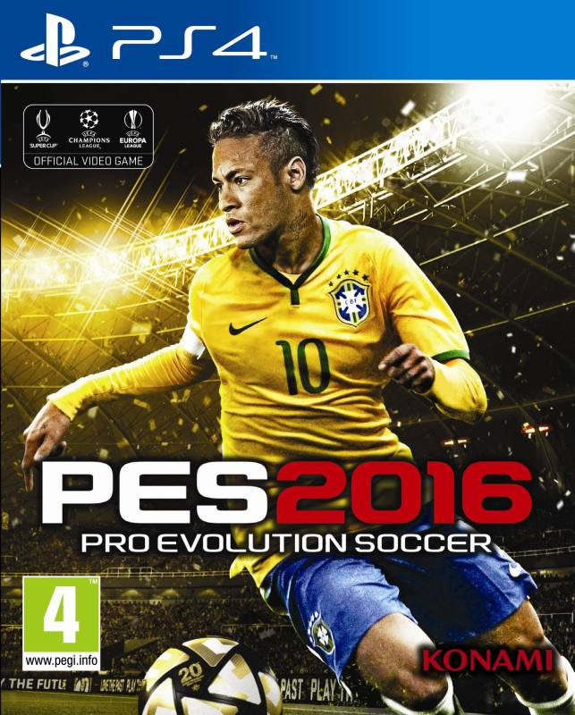 PS4 Pro Evolution Soccer 2016 PES 2016