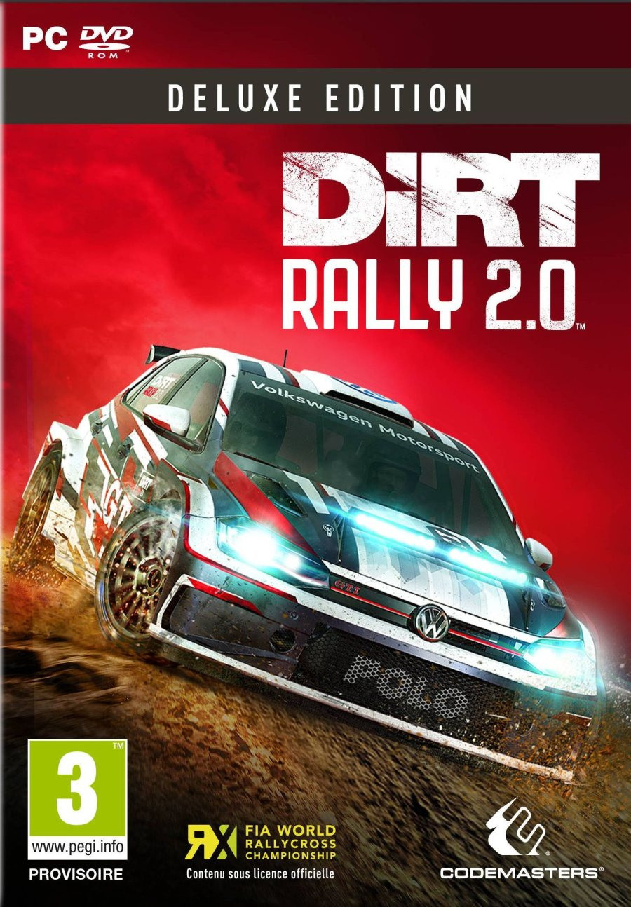 PCG Dirt Rally 2.0 Deluxe Edition