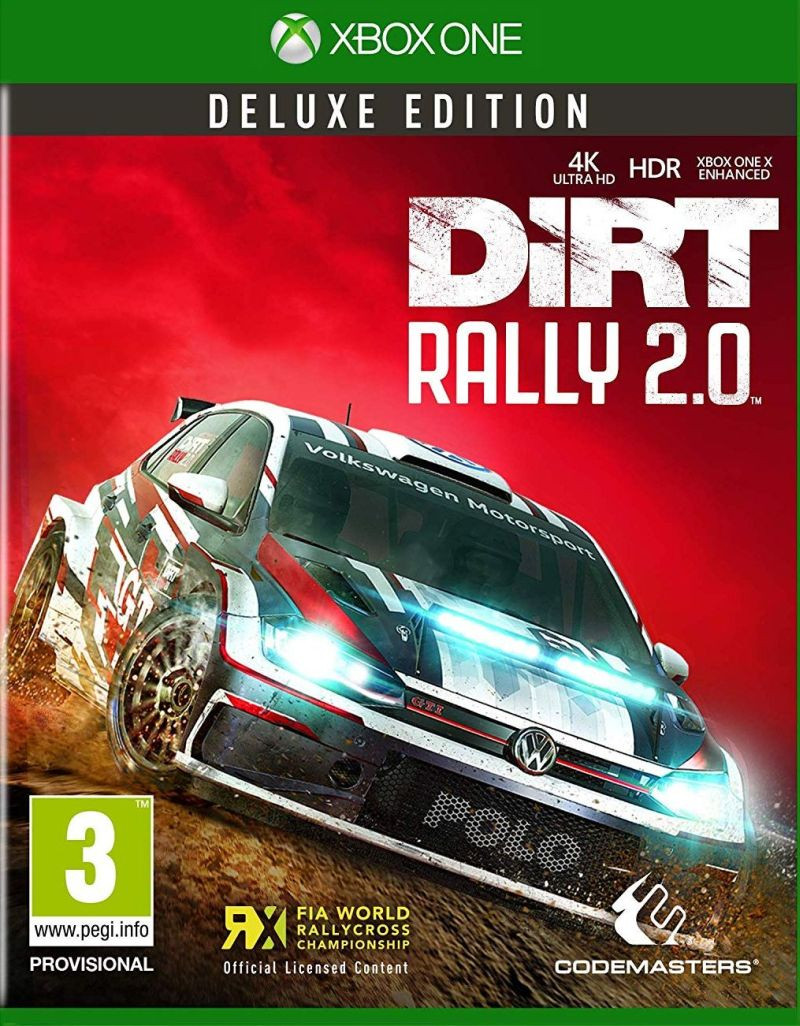 XBOX ONE Dirt Rally 2.0 Deluxe Edition