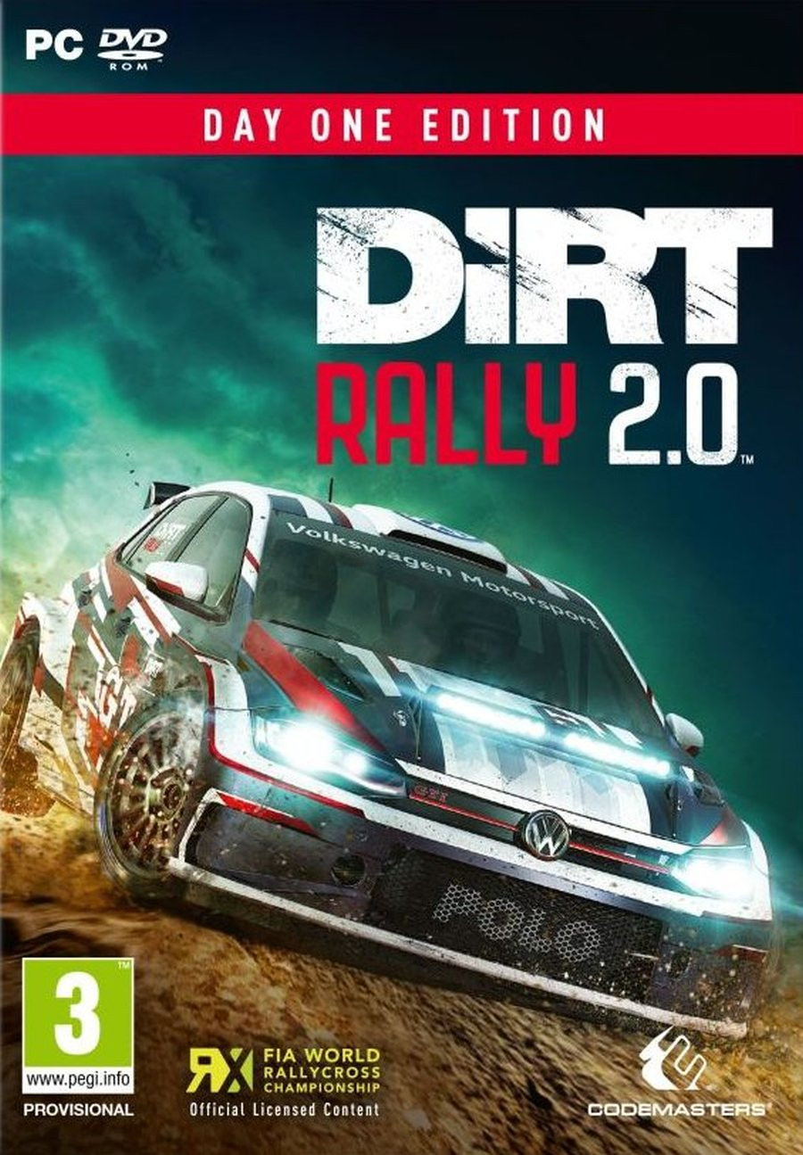 PCG Dirt Rally 2.0 Day One Edition