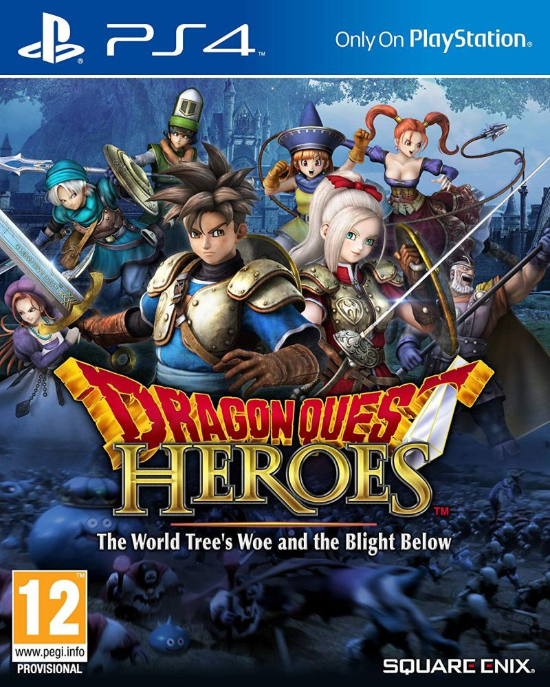 PS4 Dragon Quest Heroes - The World Trees Woe and the Blight Below