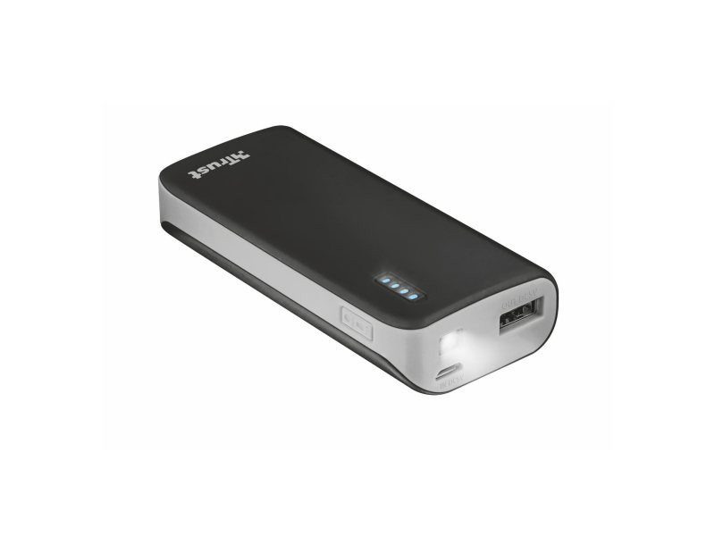 Power Bank Trust Primo 4400 prenosivi Black
