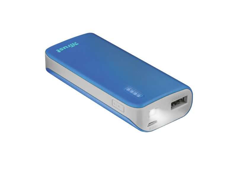 Power Bank Trust Primo 4400 prenosivi Blue