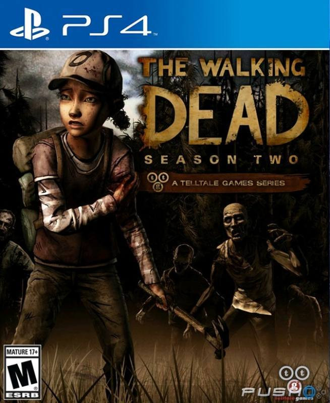 PS4 The Walking Dead Season Two