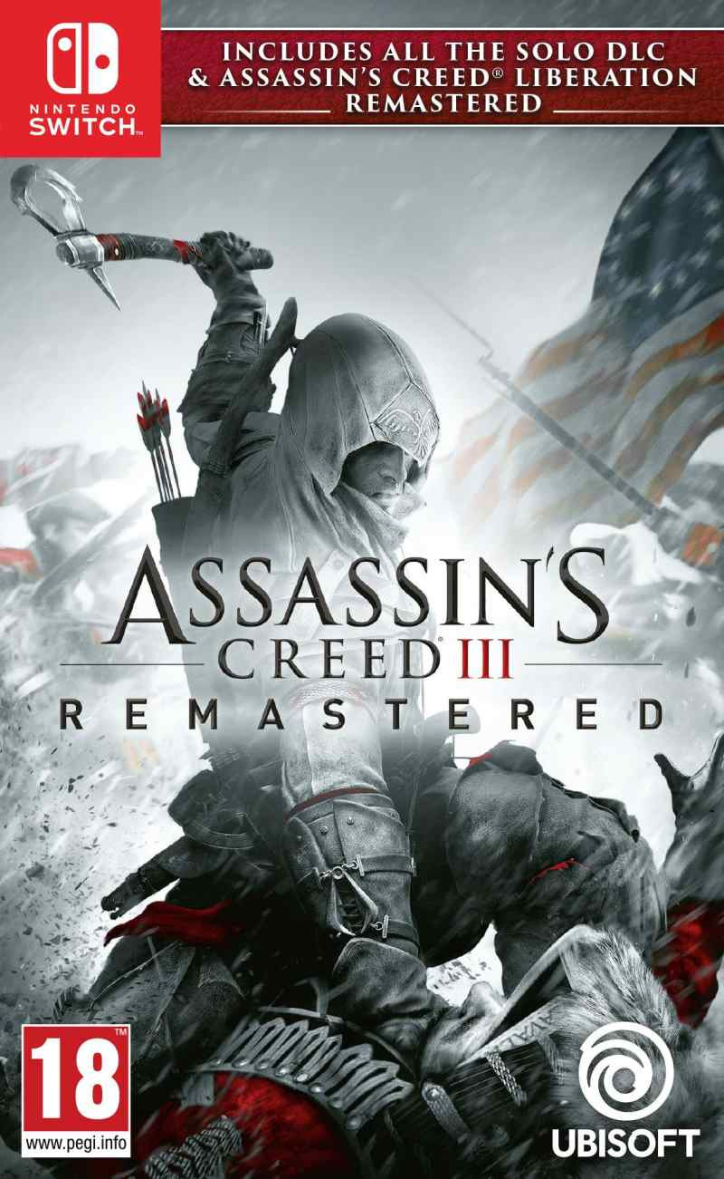 SWITCH Assassins Creed 3 Remastered