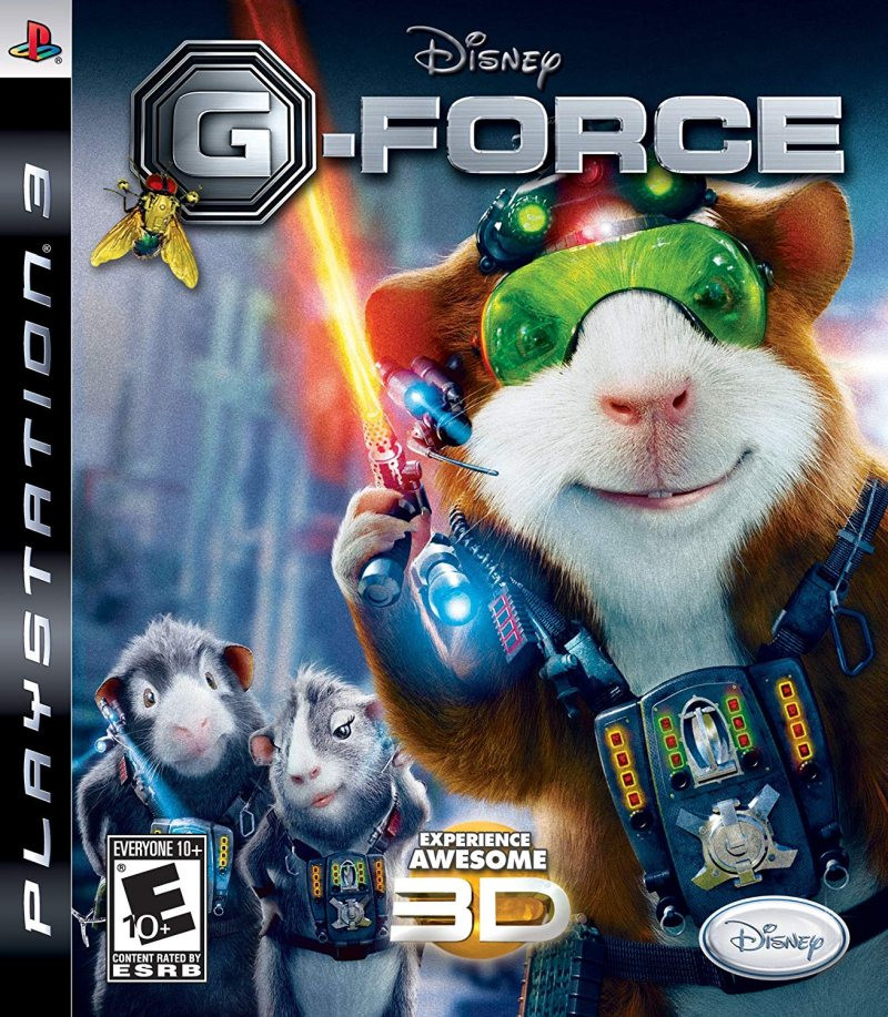 PS3 Disney G-Force