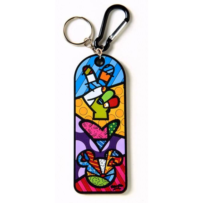 Privezak Peace & Love Mickey Mouse Keychain
