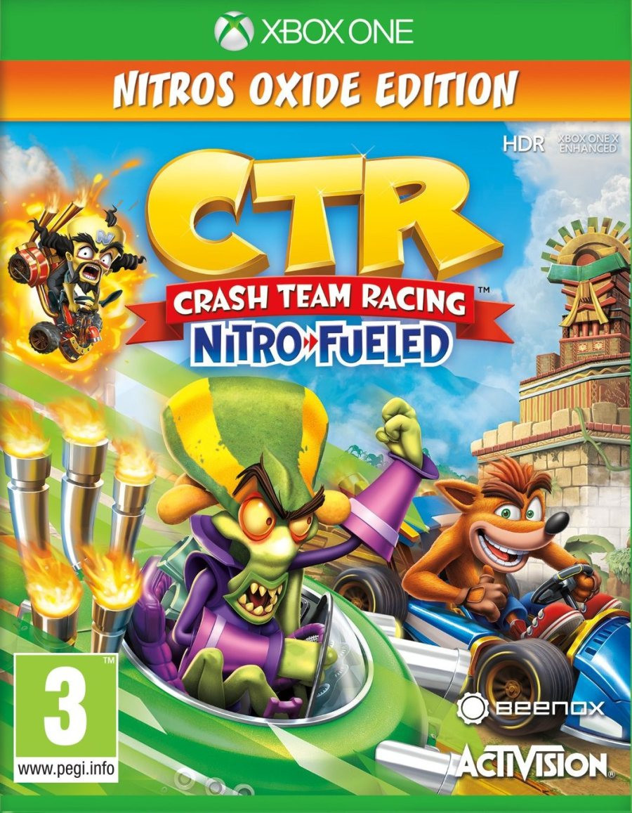 XBOX One Crash Team Racing Nitro-Fueled - Nitros Oxide Edition