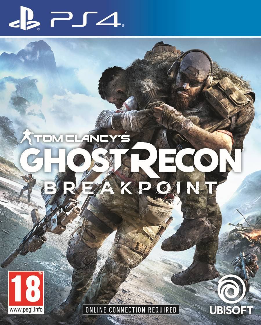 PS4 Tom Clancys Ghost Recon Breakpoint