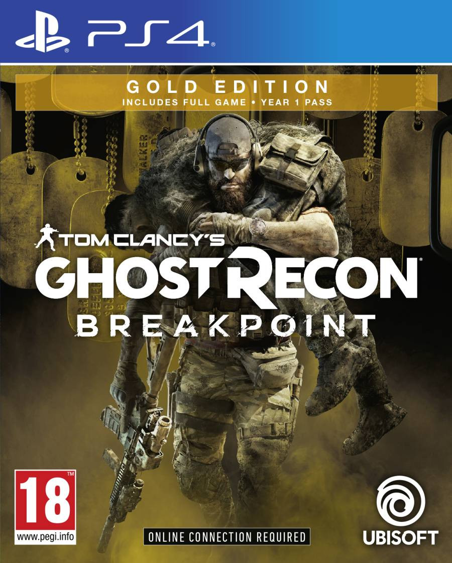 PS4 Tom Clancys Ghost Recon Breakpoint - Gold Edition