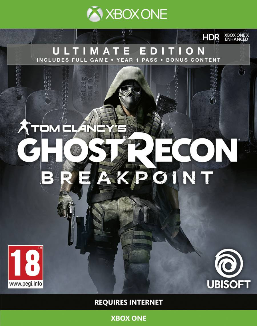 XBOX ONE Tom Clancys Ghost Recon Breakpoint - Ultimate Edition