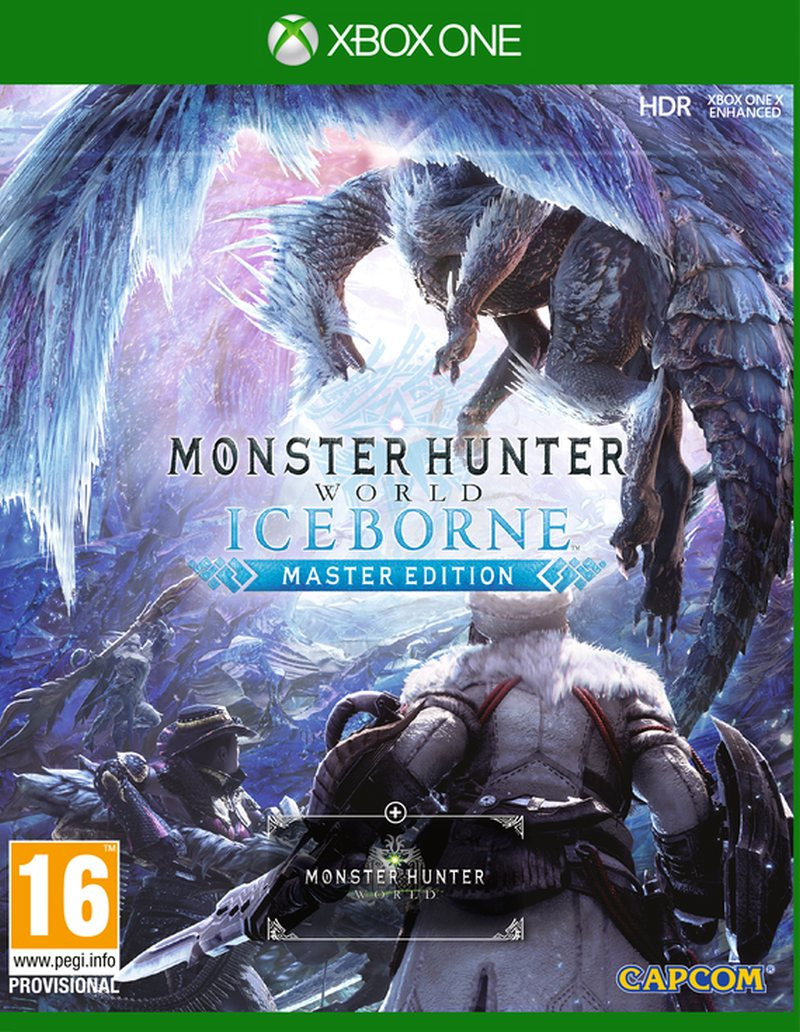 XBOX ONE Monster Hunter World Iceborn Master Edition