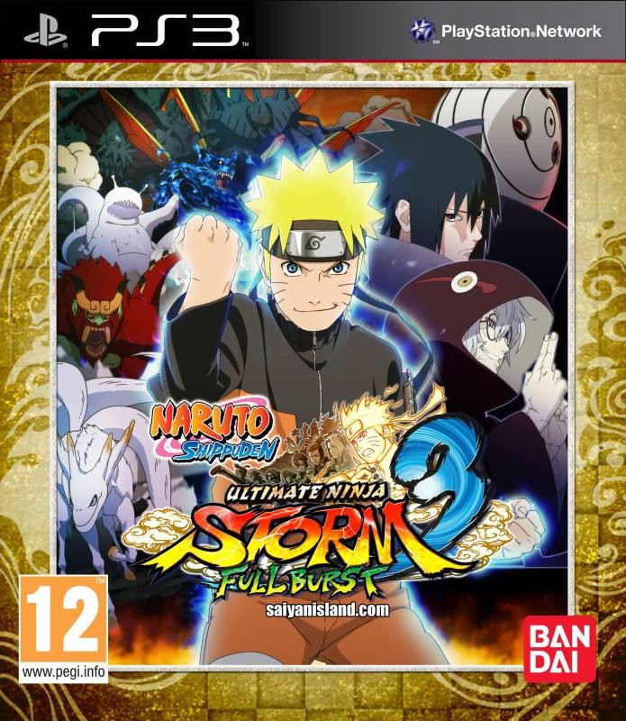 PS3 Naruto Shippuden Ultimate Ninja Storm 3 Full Burst