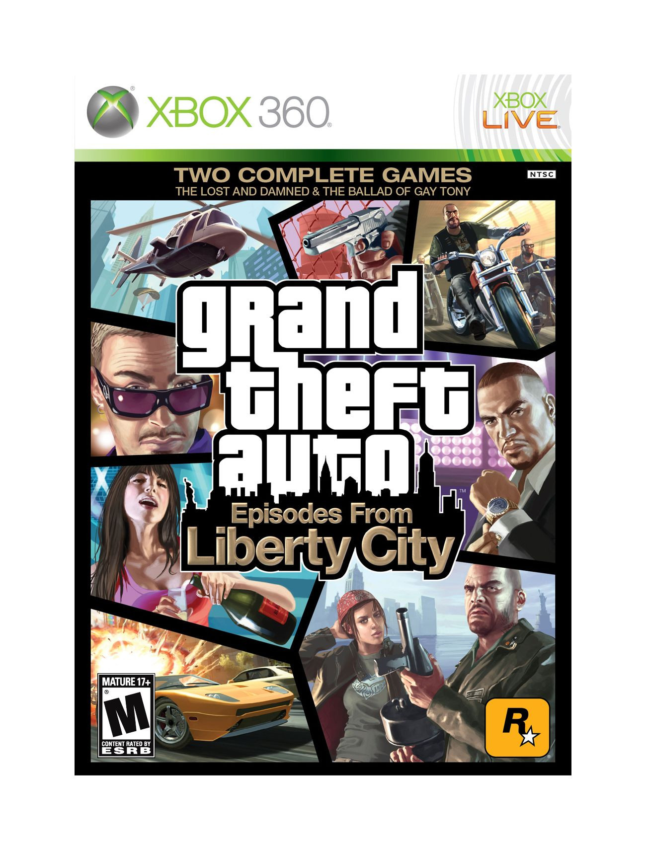 XBOX 360 Grand Theft Auto IV GTA 4 - Episodes from Liberty City