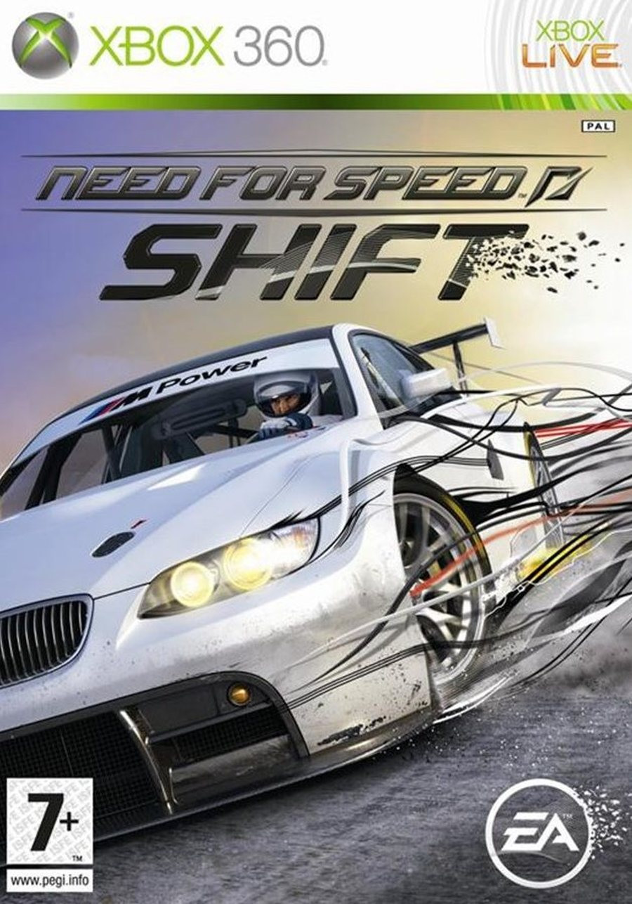 XBOX 360 Need For Speed Shift
