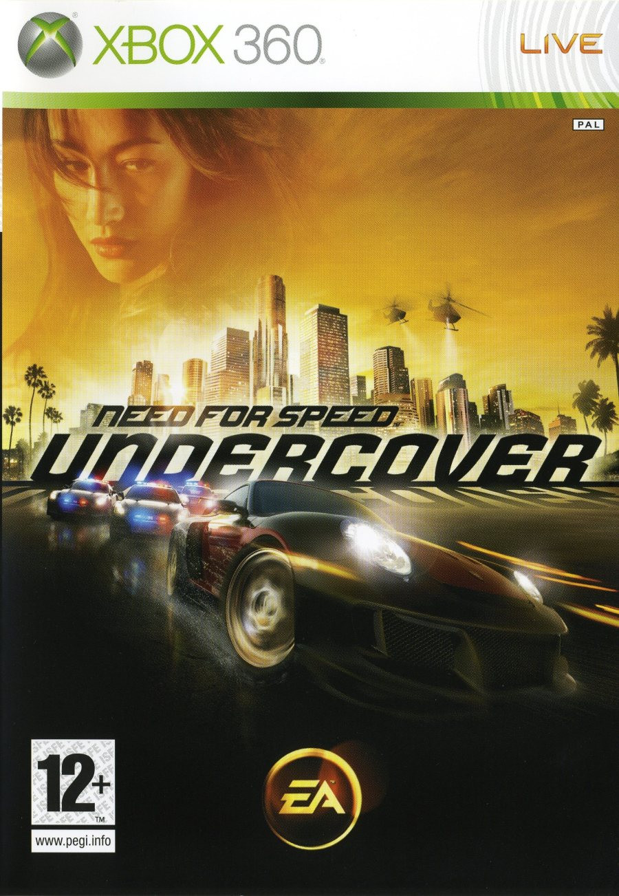 XBOX 360 Need for Speed - Undercover