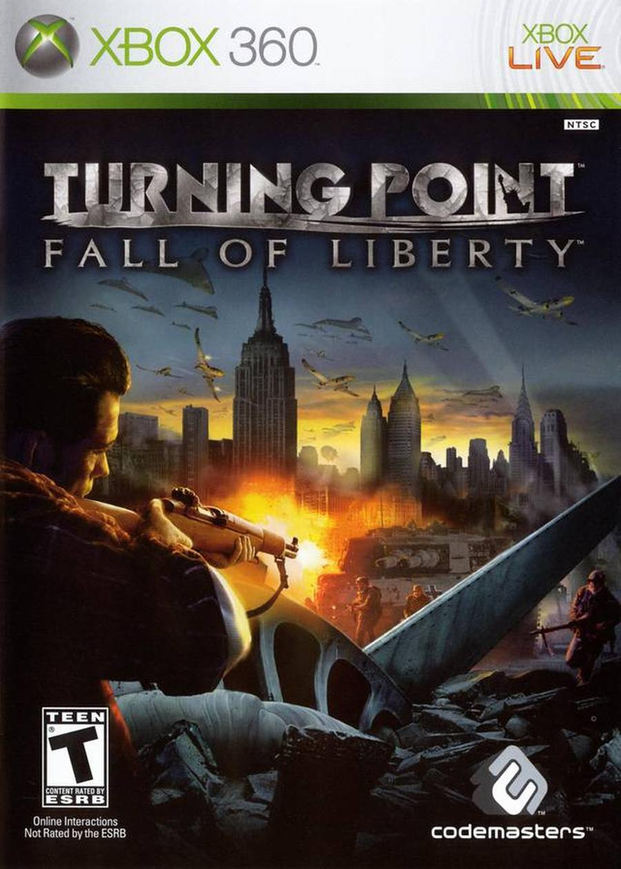 XBOX 360 Turning Point - Fall Of Liberty