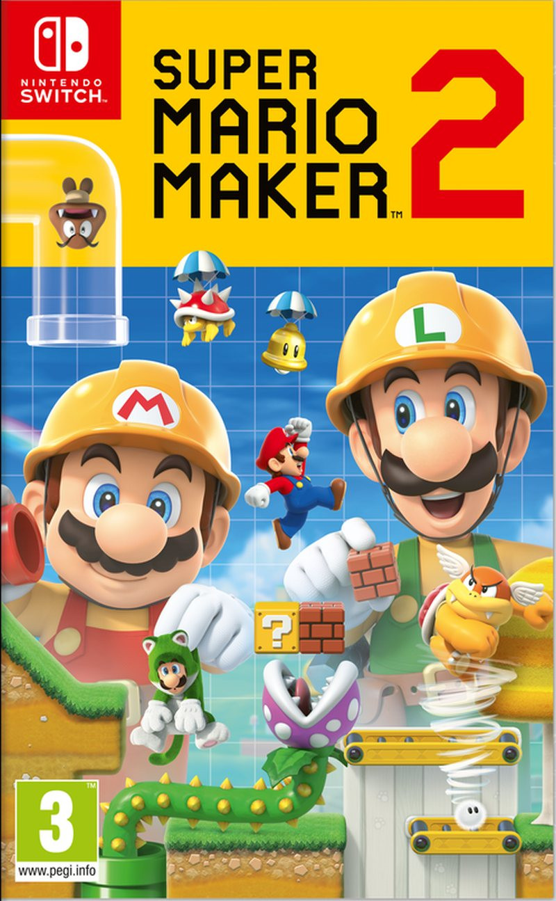 SWITCH Super Mario Maker 2 - igrica za Nintendo Switch