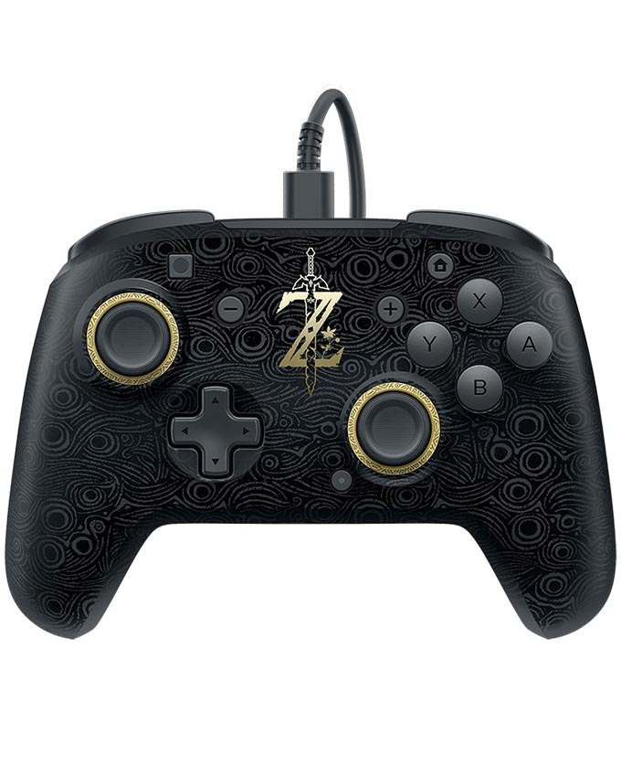 Gamepad PDP Nintendo SWITCH Faceoff Deluxe Wired Pro Controller Zelda Breath of the Wild