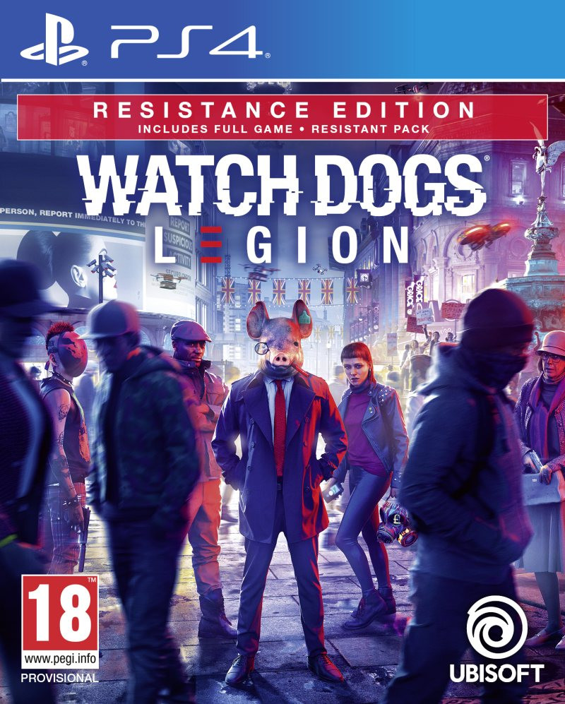 PS4 Watch Dogs Legion - Resistance Edition