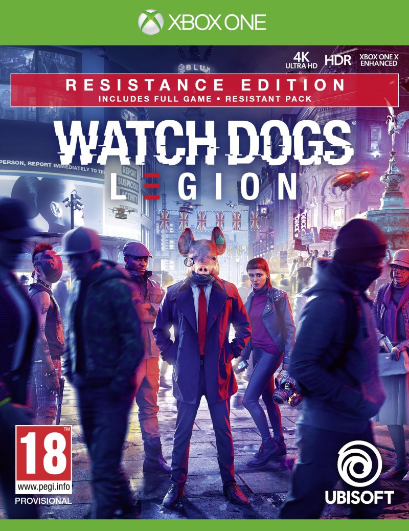 XBOX ONE Watch Dogs Legion - Resistance Edition