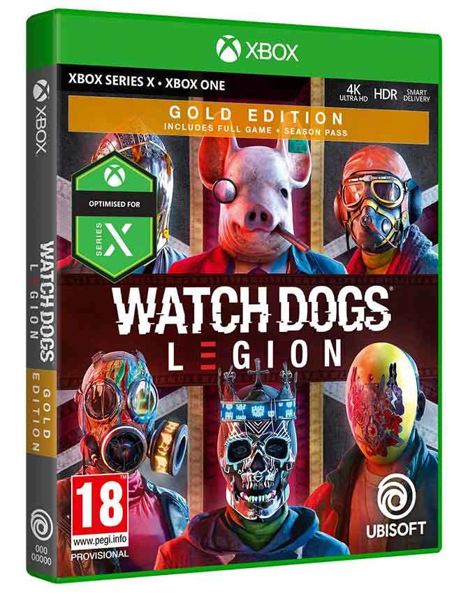 XBOX ONE Watch Dogs Legion - Gold Edition
