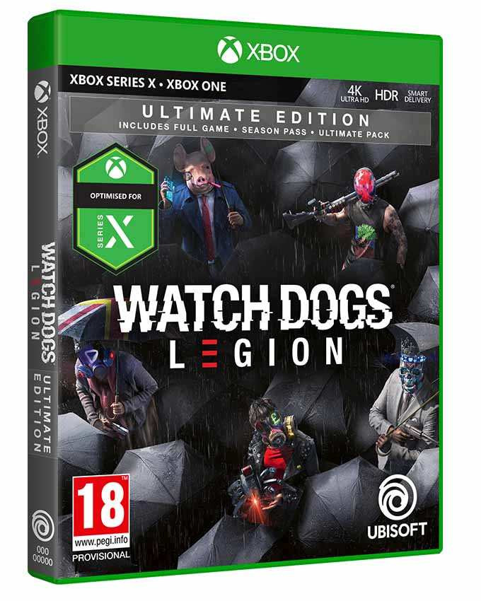 XBOX ONE Watch Dogs Legion - Ultimate Edition