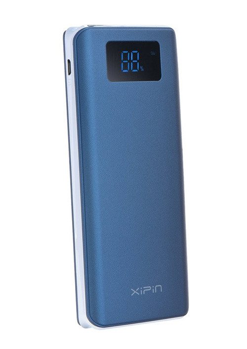 Power Bank Xipin T1 blue, 12000mAh