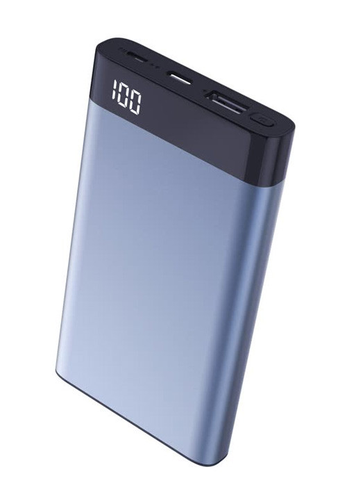 Power Bank Xipin T13 Blue, 10000mAh, QC