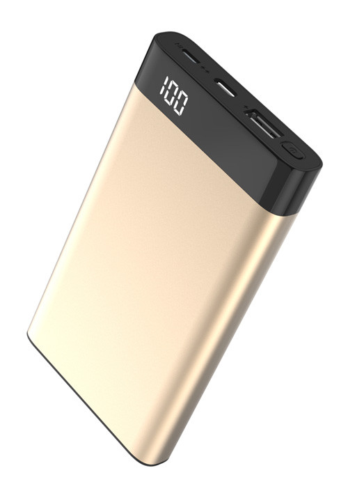 Power Bank Xipin T13 Gold, 10000mAh, QC