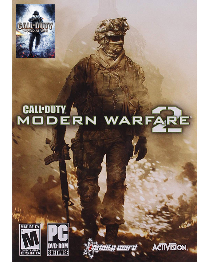 PCG Call of Duty - Modern Warfare 2 + Call od Duty World at War