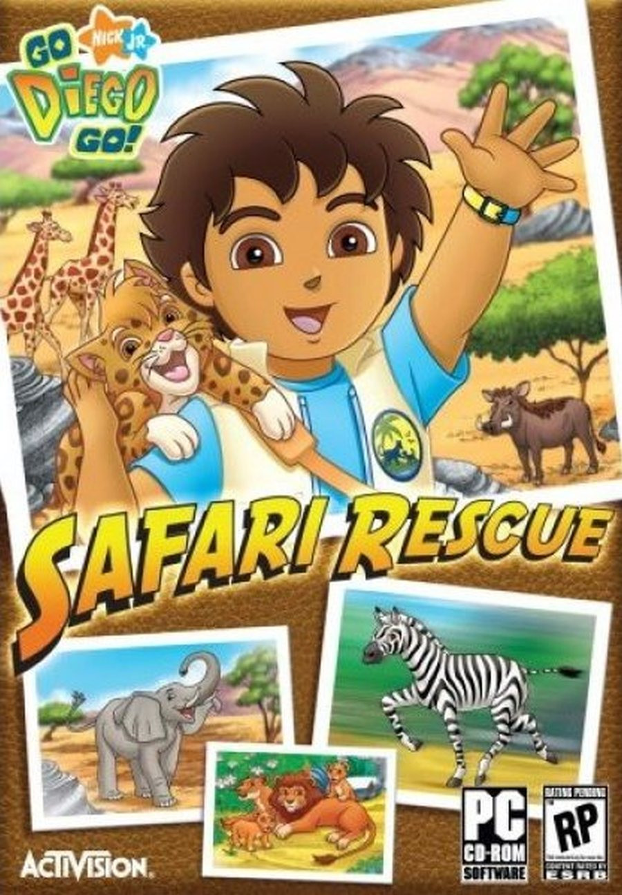 PCG Go Diego Go! Safari Rescue, MB