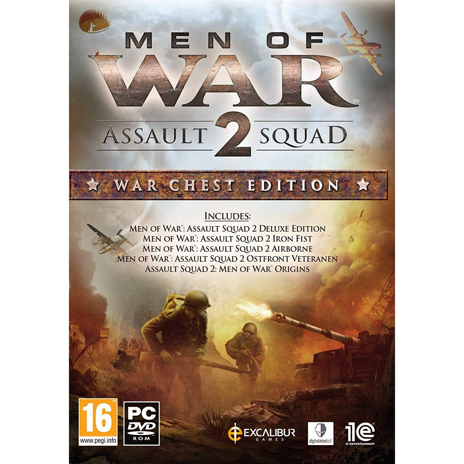 PCG Men of War Assault Squad 2: War Chest Edition