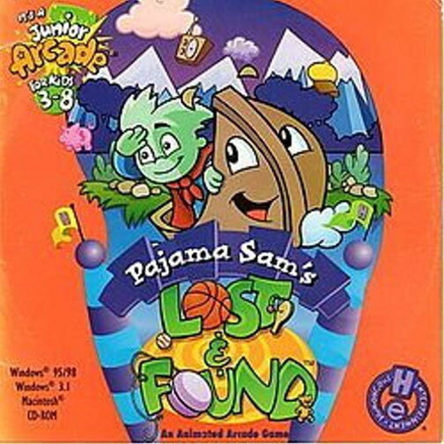 PCG Pajama Sam Lost and Found, MB