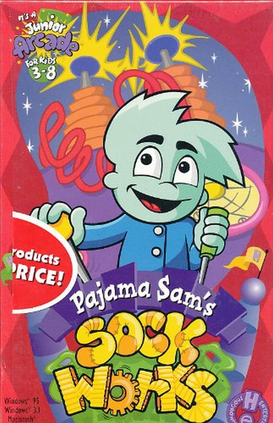 PCG Pajama Sam Sock Works, MB