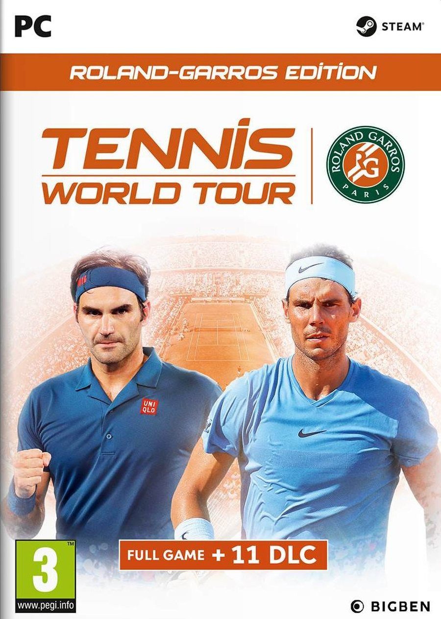 PCG Tennis World Tour - Roland-Garros Edition