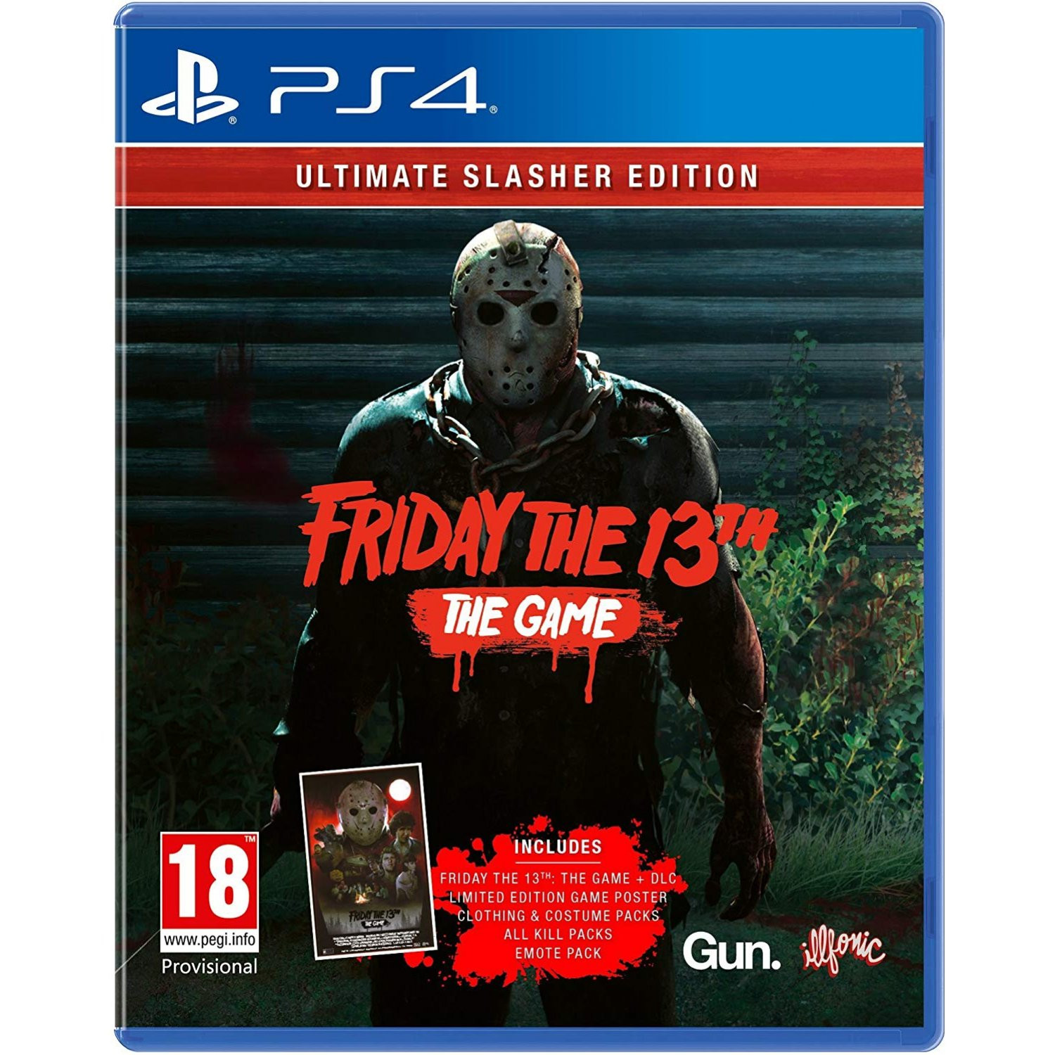 PS4 Friday the 13th - Ultimate Slasher Edition