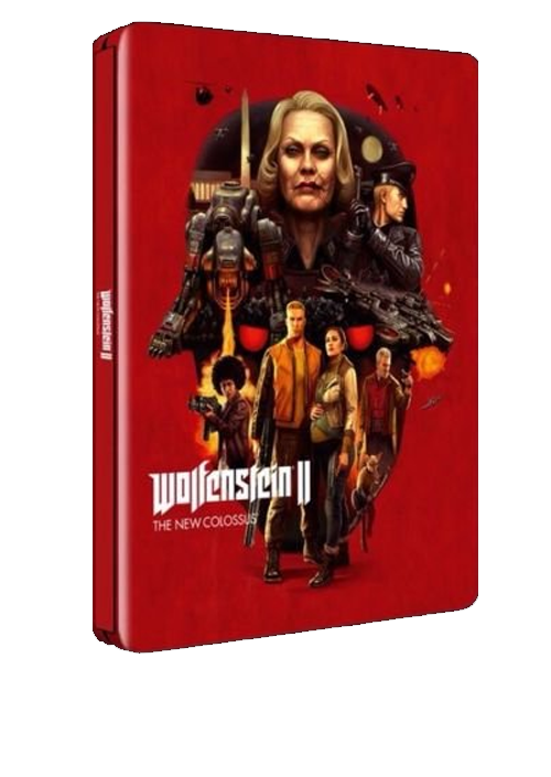 PS4 Wolfenstein 2 - The New Colossus Steelbook edition