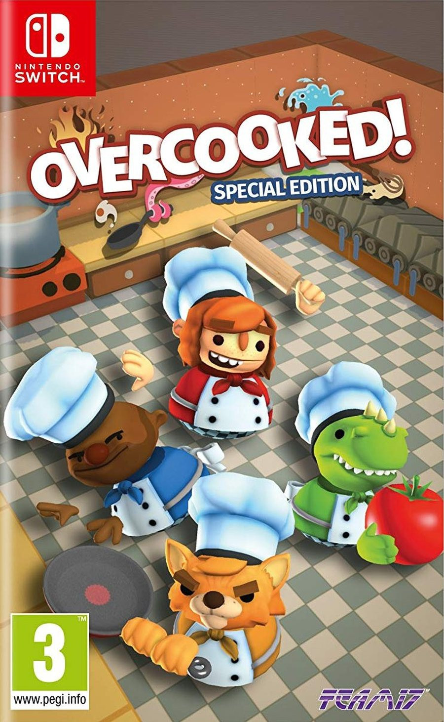 SWITCH Overcooked - Special Edition