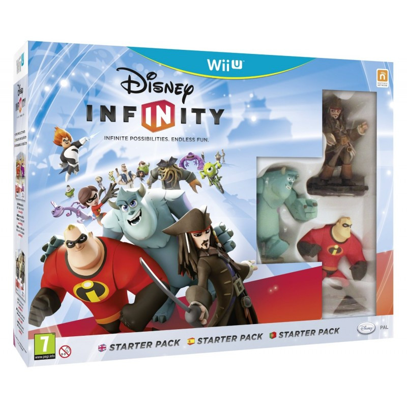 WiiU Infinity Starter Pack + 2 Power Discs