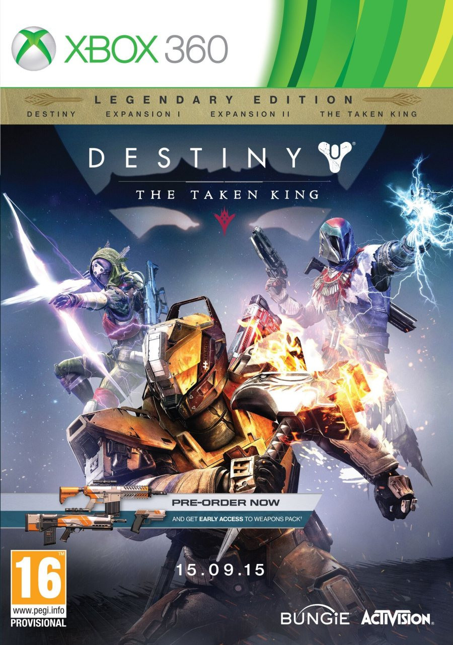 XBOX 360 Destiny - The Taken King - Legendary Edition