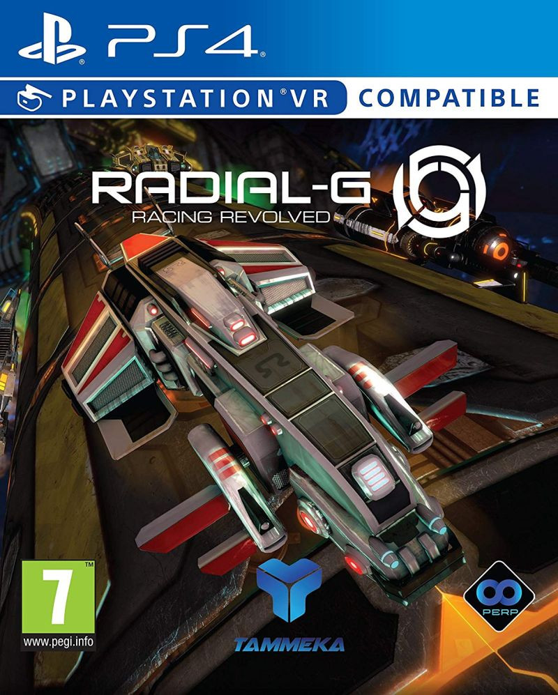 PS4 Radial-G Racing Revolved VR