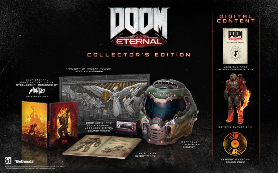 PS4 DOOM Eternal - Collectors Edition
